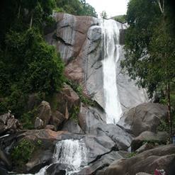 Telaga Tujuh Waterfalls aka Seven Wells