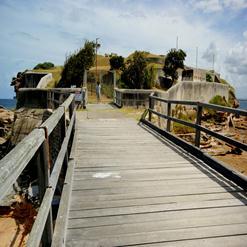 Bare Island Fort