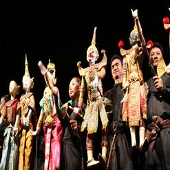 Traditional Thai Puppet Theater